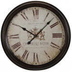 Chateau Noir' Wall Clock