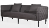 Black ButtonedSofa