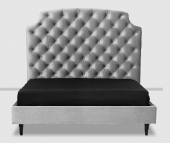 Addrey Button Upholstered Bed