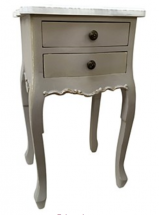 2-Drawer Bedside Table