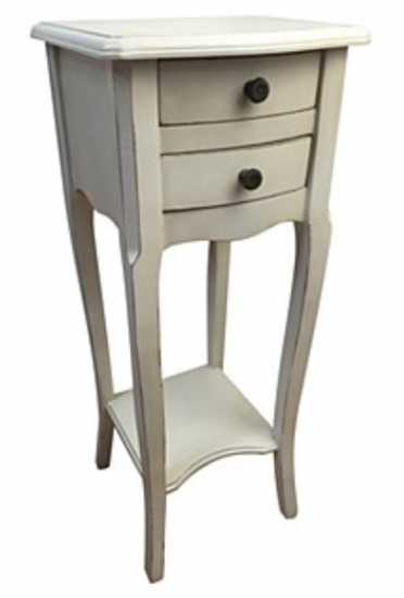 2-Drawer Bedside Chest - Click Image to Close
